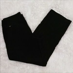 Denim and Co velvet cargo pants.